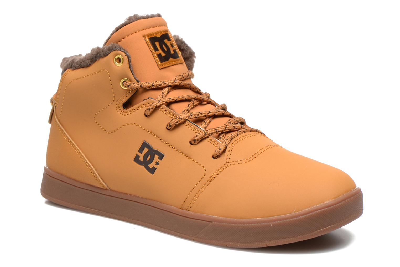 Sneaker DC Shoes CRISIS HIGH WNT beige detaillierte ansicht/modell