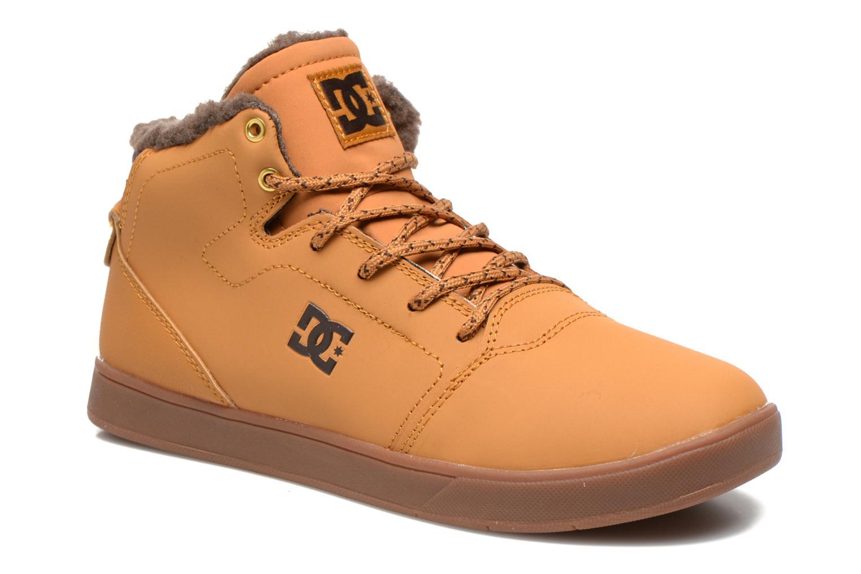 Deportivas DC Shoes CRISIS HIGH WNT Beige vista de detalle / par