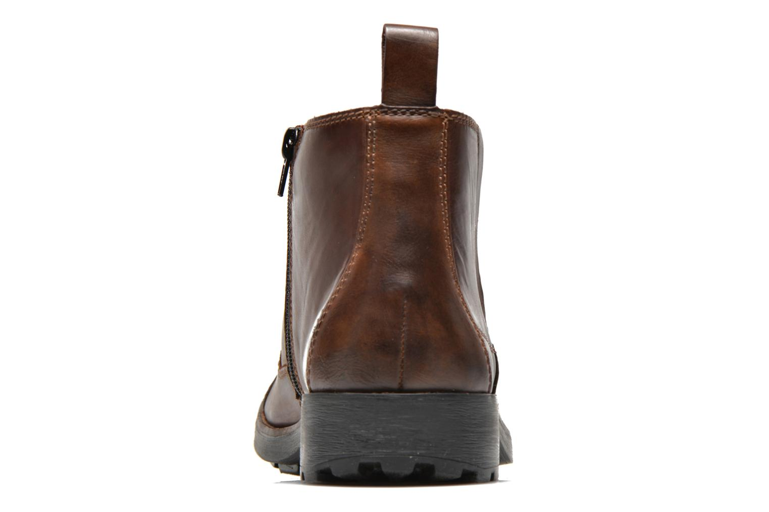 Ankle boots Rieker Petro 36050 Brown view from the right