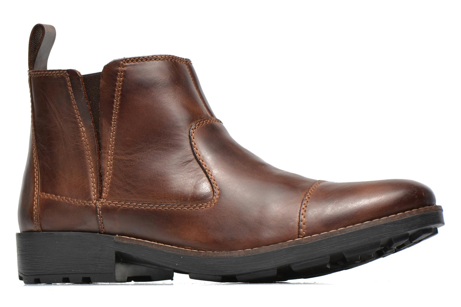Ankle boots Rieker Petro 36050 Brown back view