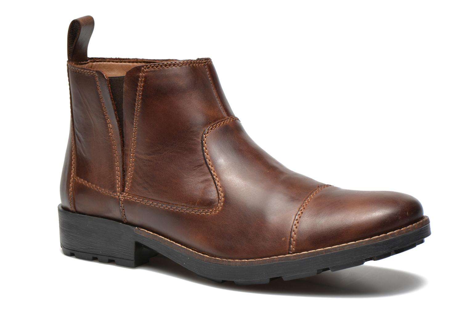 Ankle boots Rieker Petro 36050 Brown detailed view/ Pair view
