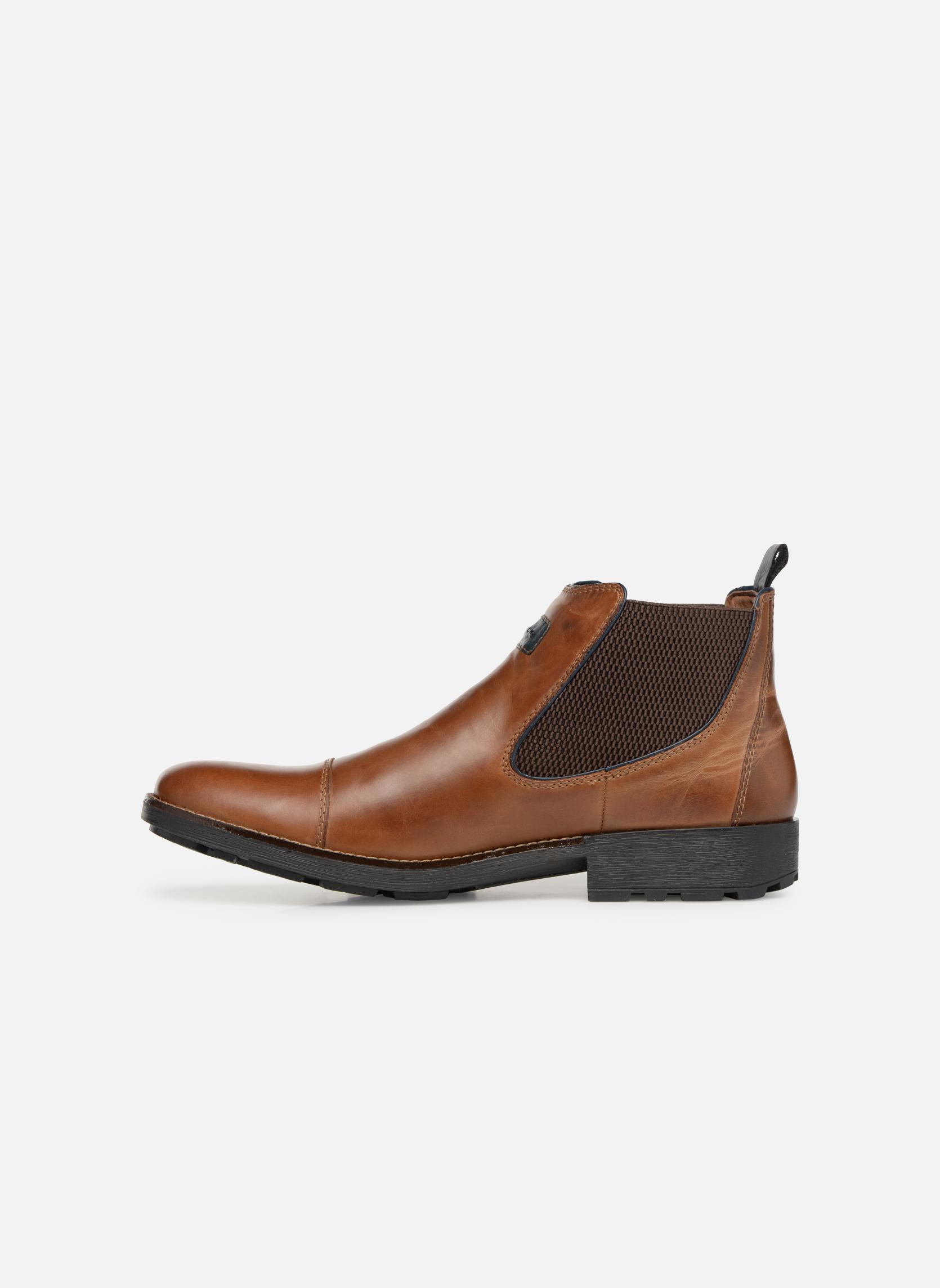 Bottines et boots Rieker Five 36063 Marron vue face