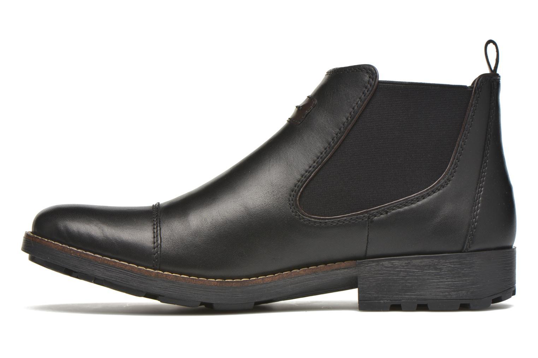 Bottines et boots Rieker Five 36063 Noir vue face