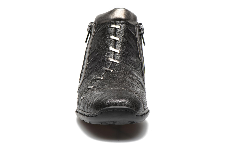 Bottines et boots Rieker Vica 58360 Noir vue portées chaussures
