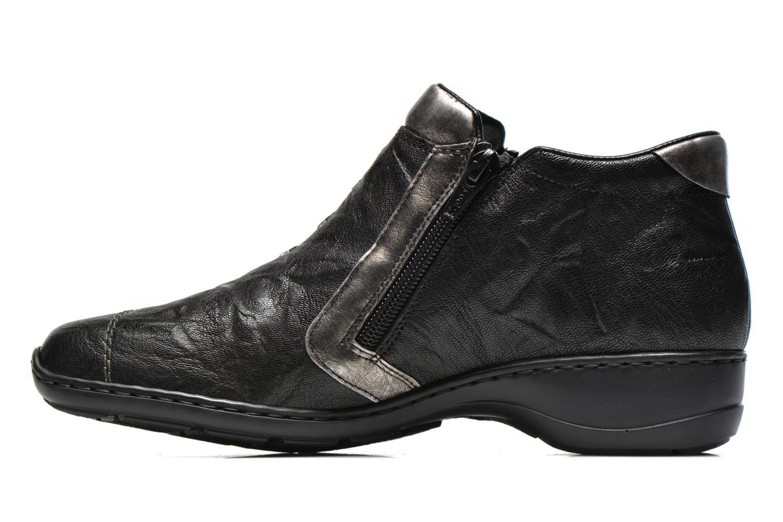 Bottines et boots Rieker Vica 58360 Noir vue face