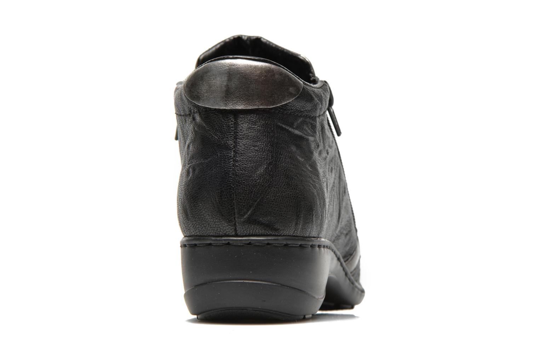 Bottines et boots Rieker Vica 58360 Noir vue droite