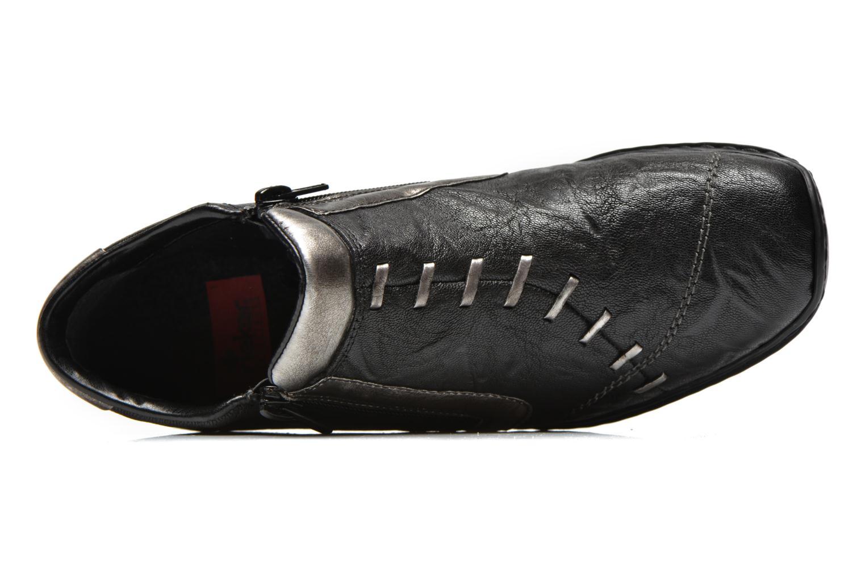 Bottines et boots Rieker Vica 58360 Noir vue gauche