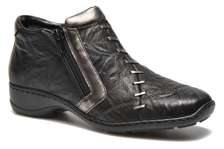 Bottines et boots Rieker Vica 58360 Noir vue détail/paire