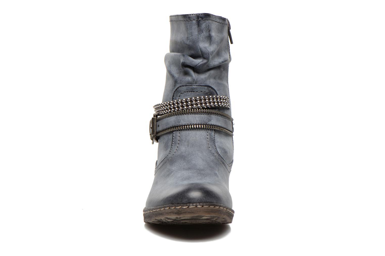 Ankle boots Rieker Kady K1496 Blue model view