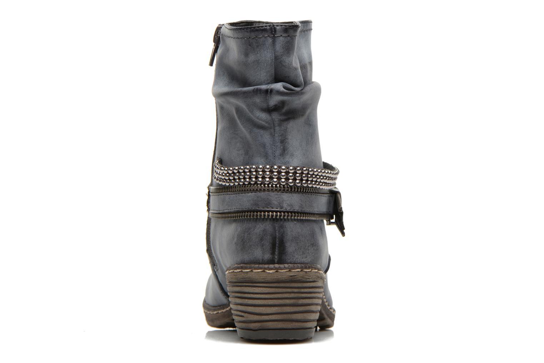 Stiefeletten & Boots Rieker Kady K1496 blau ansicht von rechts