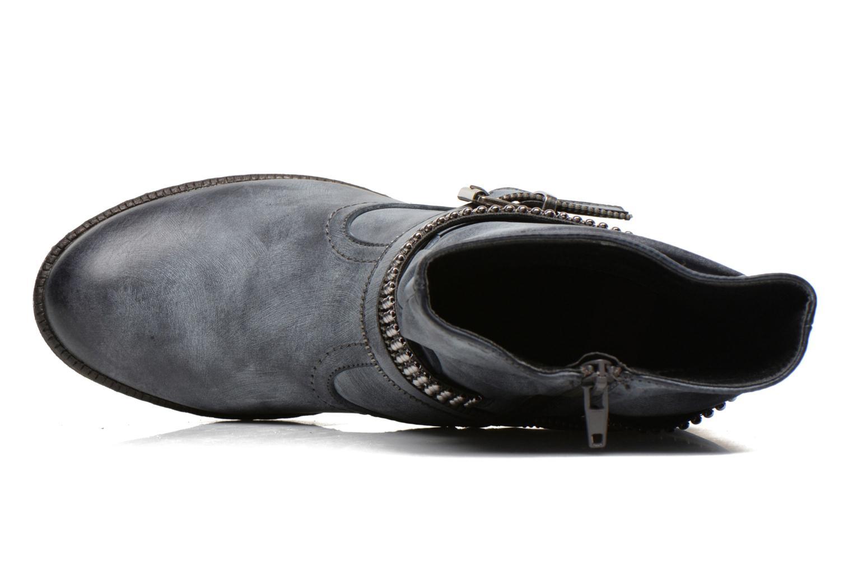 Stiefeletten & Boots Rieker Kady K1496 blau ansicht von links