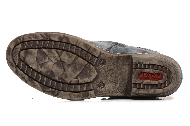 Boots en enkellaarsjes Rieker Kady K1496 Blauw boven