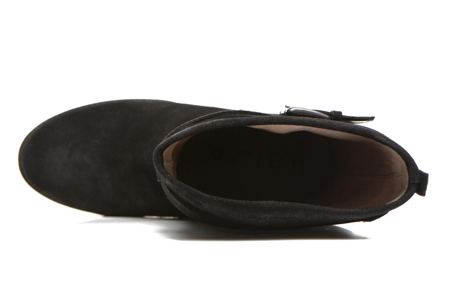 Talia2 Black Baby Suede Baltic