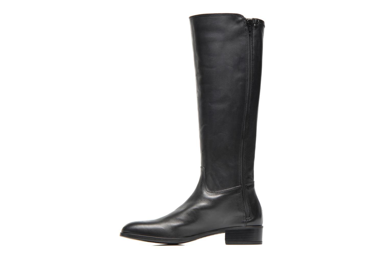 Støvler & gummistøvler Unisa Damian Sort se forfra