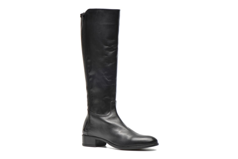 Støvler & gummistøvler Unisa Damian Sort detaljeret billede af skoene