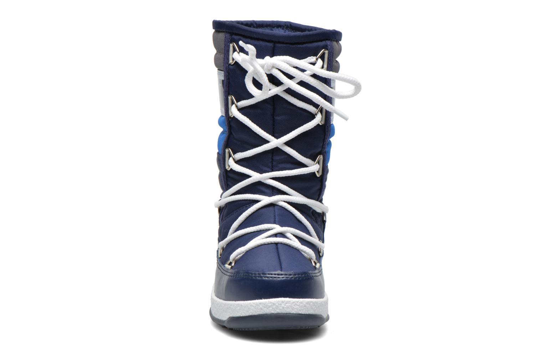 Stiefel Moon Boot Moon Boot Quilted Jr Wp blau schuhe getragen