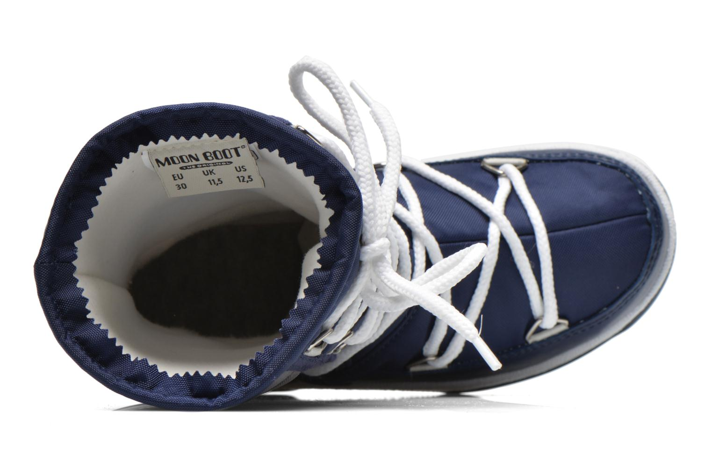 Stiefel Moon Boot Moon Boot Quilted Jr Wp blau ansicht von links