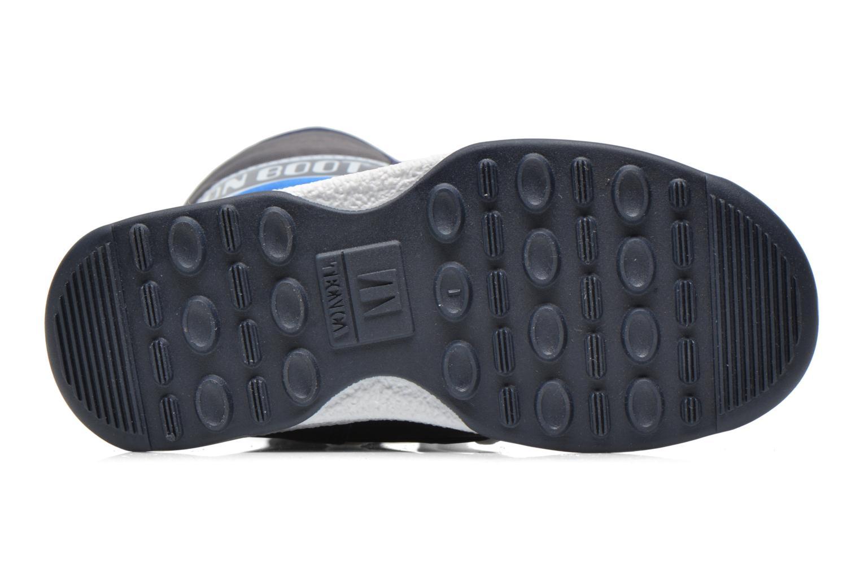 Bottes Moon Boot Moon Boot Quilted Jr Wp Bleu vue haut