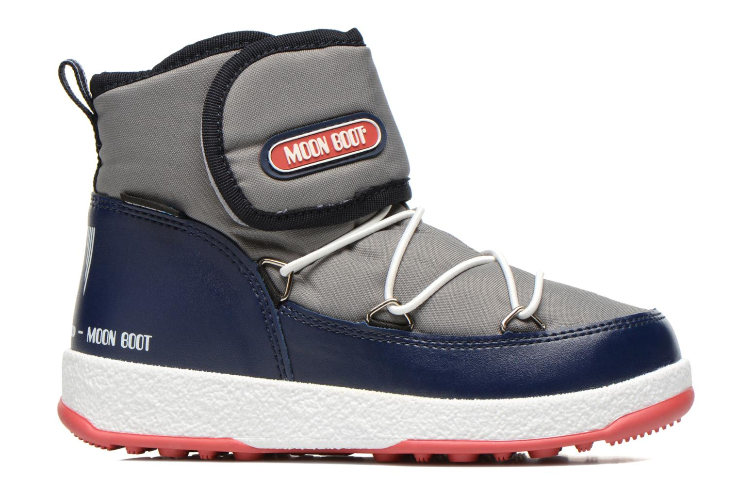 Moon Boot WE Jr Strap Grey Blue Navy Red