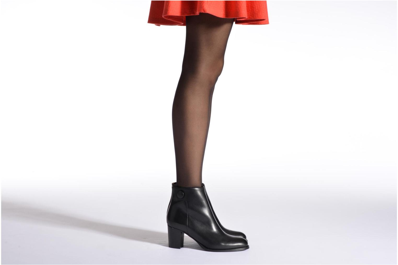 Bottines et boots Georgia Rose Tirrany Bleu vue bas / vue portée sac