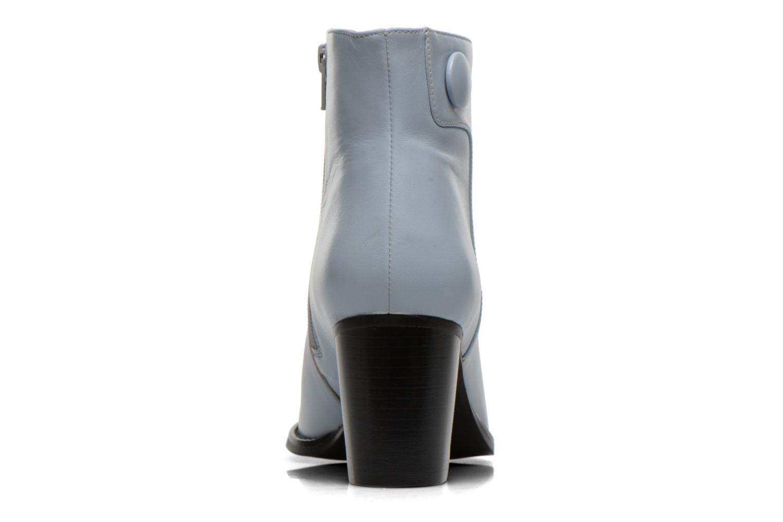 Bottines et boots Georgia Rose Tirrany Bleu vue droite