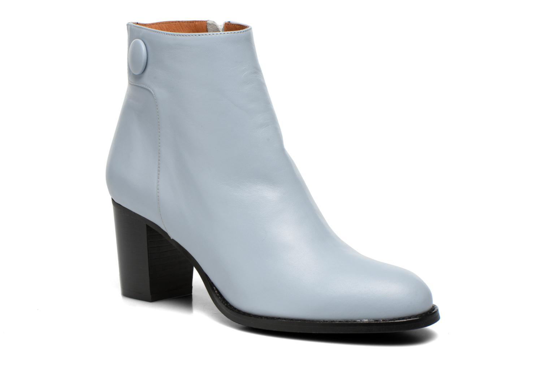 Bottines et boots Georgia Rose Tirrany Bleu vue détail/paire