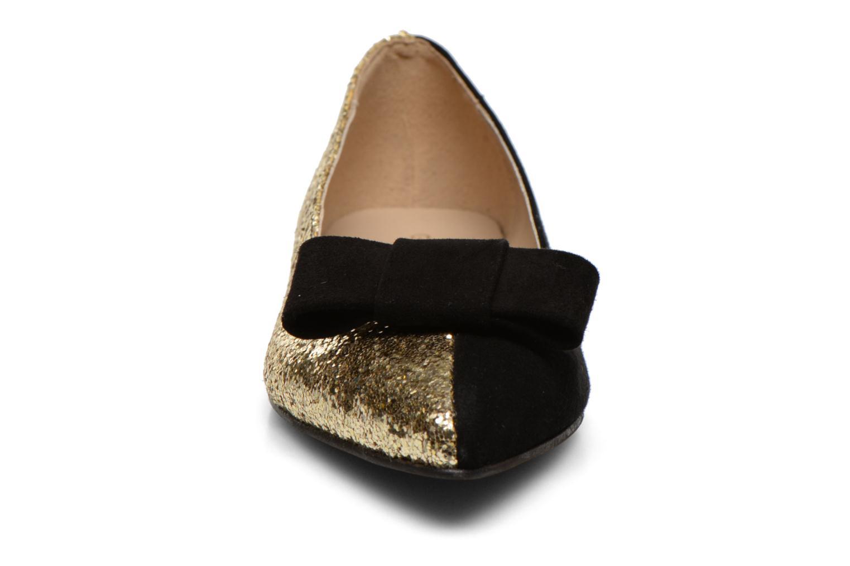 Ballerines Georgia Rose Nouba Or et bronze vue portées chaussures