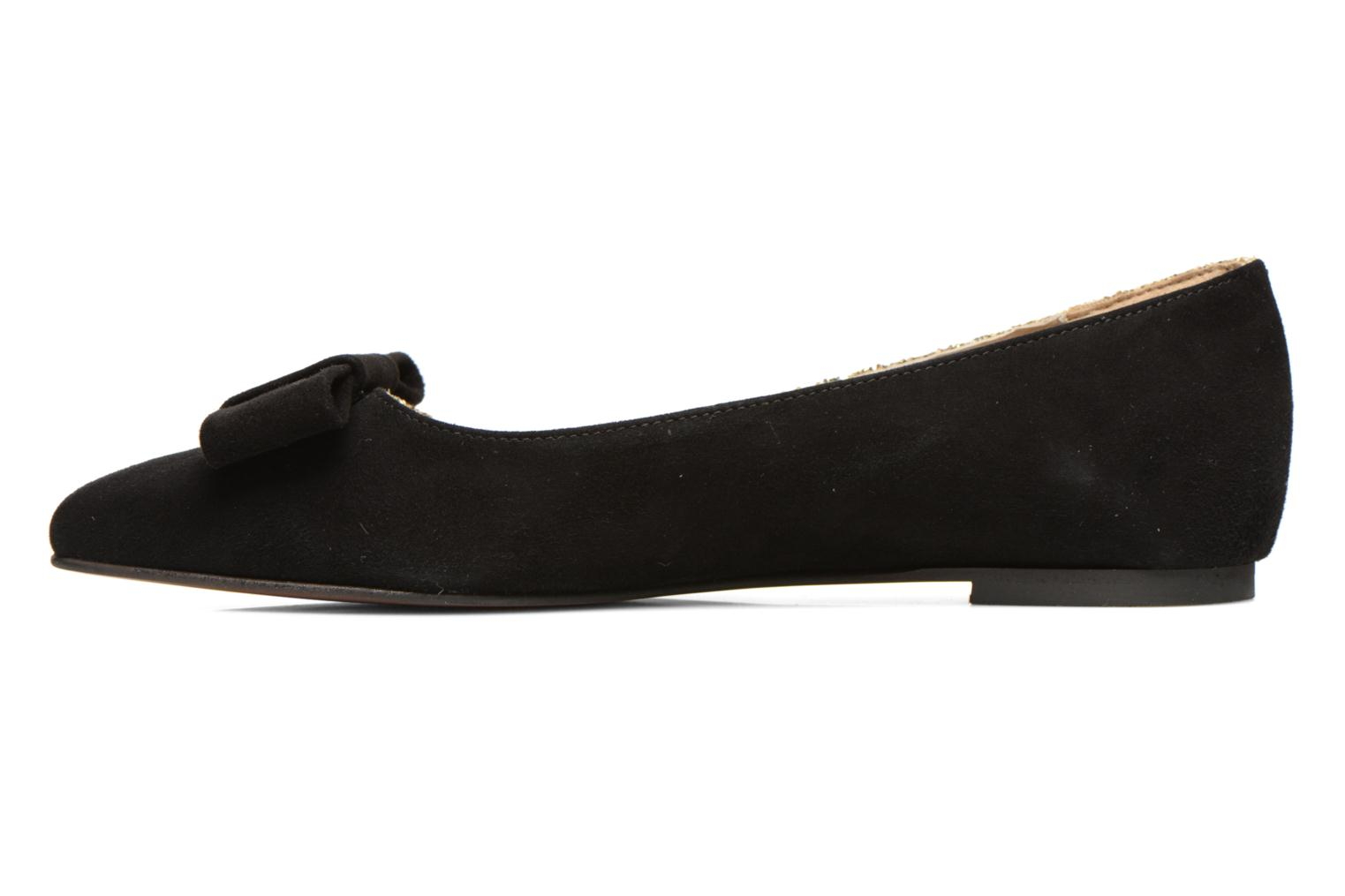 Ballet pumps Georgia Rose Nouba Bronze and Gold front view