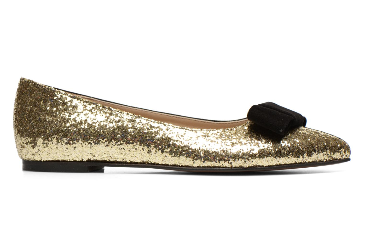 Ballet pumps Georgia Rose Nouba Bronze and Gold back view