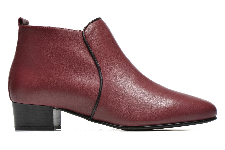 Bottines et boots Georgia Rose Lubiais Bordeaux vue derrière