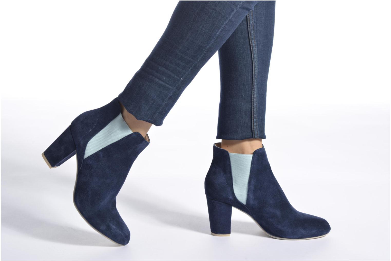 Bottines et boots Shoe the bear Hannah Bleu vue bas / vue portée sac