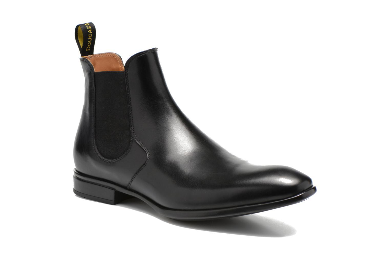 Boots Doucal's OMAR Svart detaljerad bild på paret