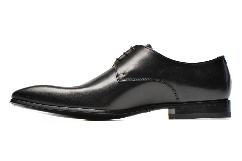 Snörade skor Doucal's NICO LOW Svart bild från framsidan