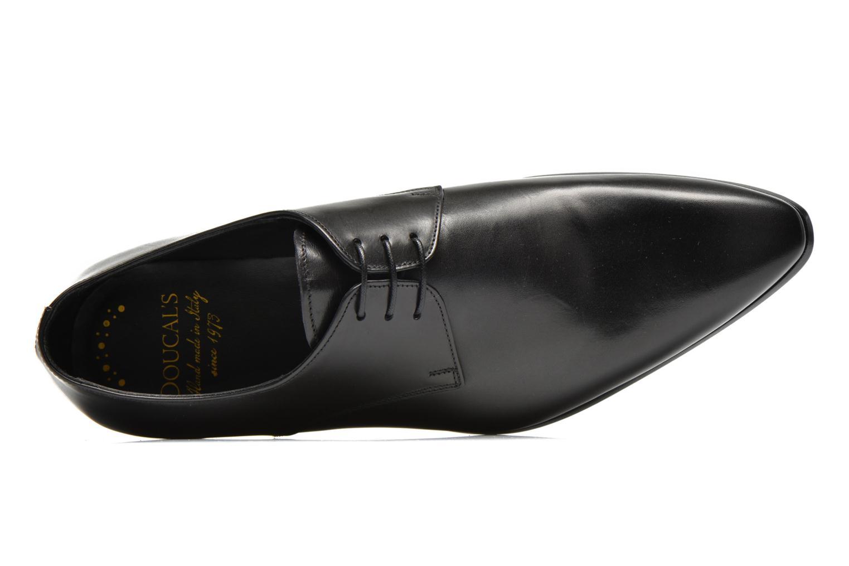 Snörade skor Doucal's NICO LOW Svart bild från vänster sidan