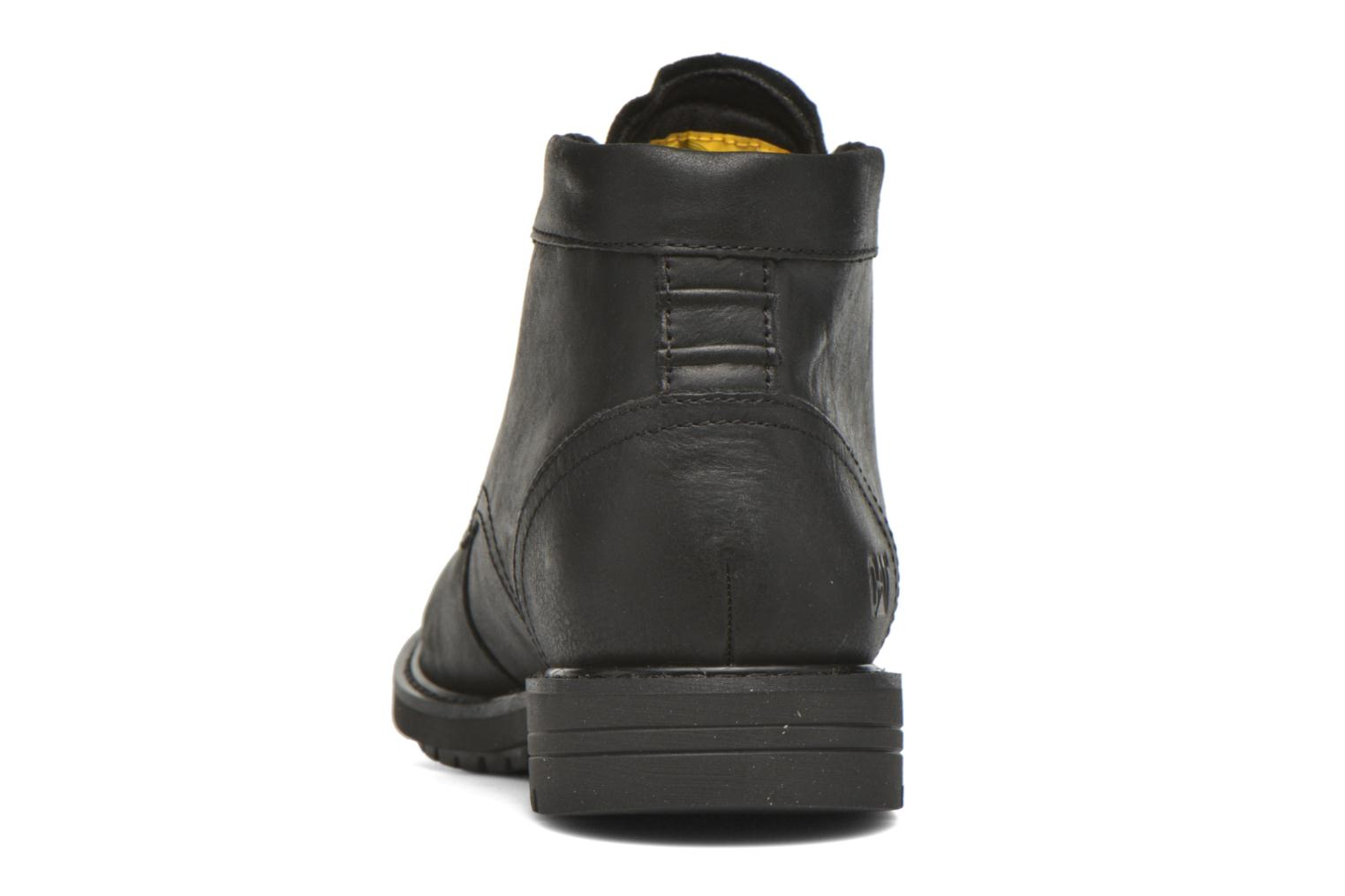 Ankle boots Caterpillar Brock Black view from the right