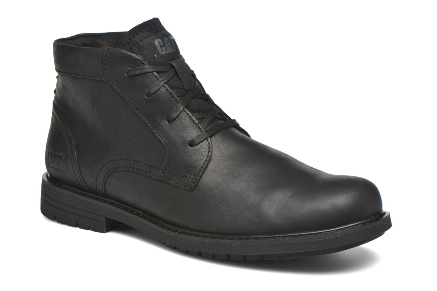 Ankle boots Caterpillar Brock Black detailed view/ Pair view