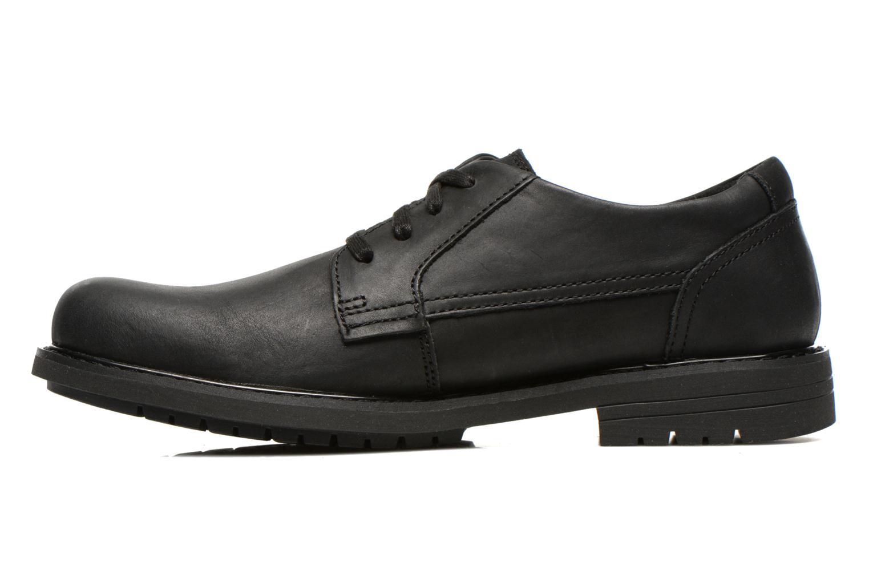 Chaussures à lacets Caterpillar Cason Noir vue face