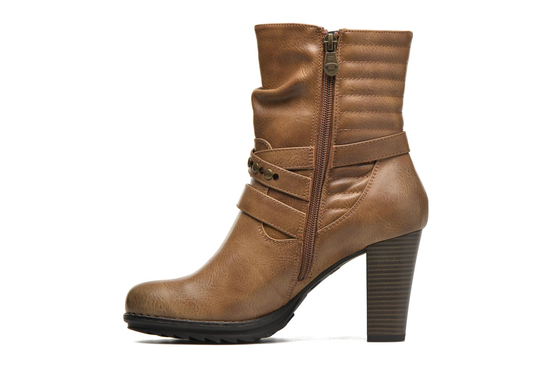 Bottines et boots Tom Tailor Fleur Marron vue face