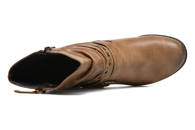 Bottines et boots Tom Tailor Fleur Marron vue gauche