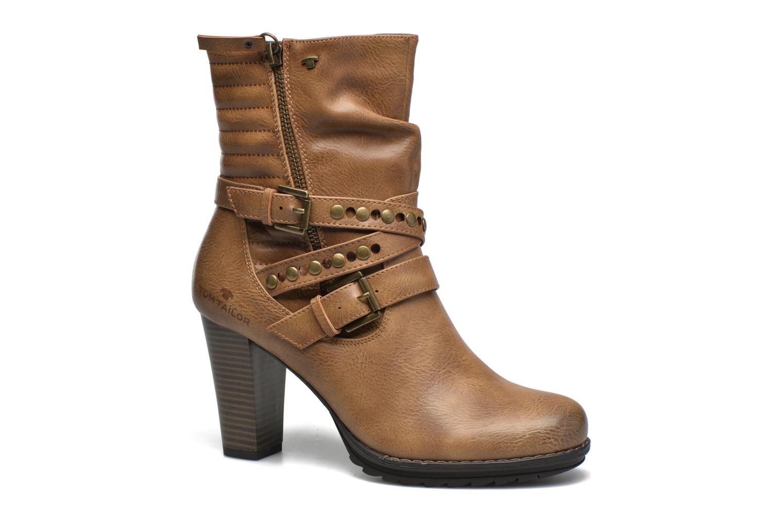 Bottines et boots Tom Tailor Fleur Marron vue détail/paire