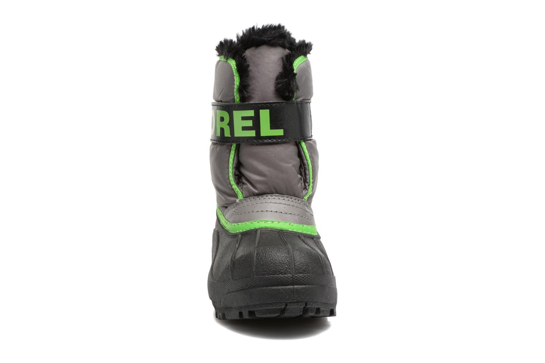Bottes Sorel Snow Commander Gris vue portées chaussures