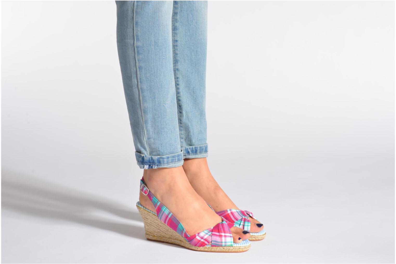 Sandales et nu-pieds Banana Moon Cleese Multicolore vue bas / vue portée sac