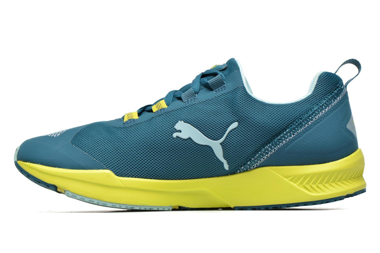 Chaussures de sport Puma Ignite XT Wn's Bleu vue face