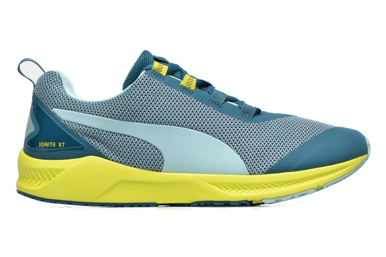 Chaussures de sport Puma Ignite XT Wn's Bleu vue derrière