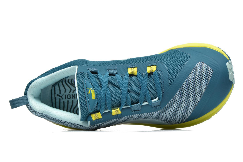 Chaussures de sport Puma Ignite XT Wn's Bleu vue gauche