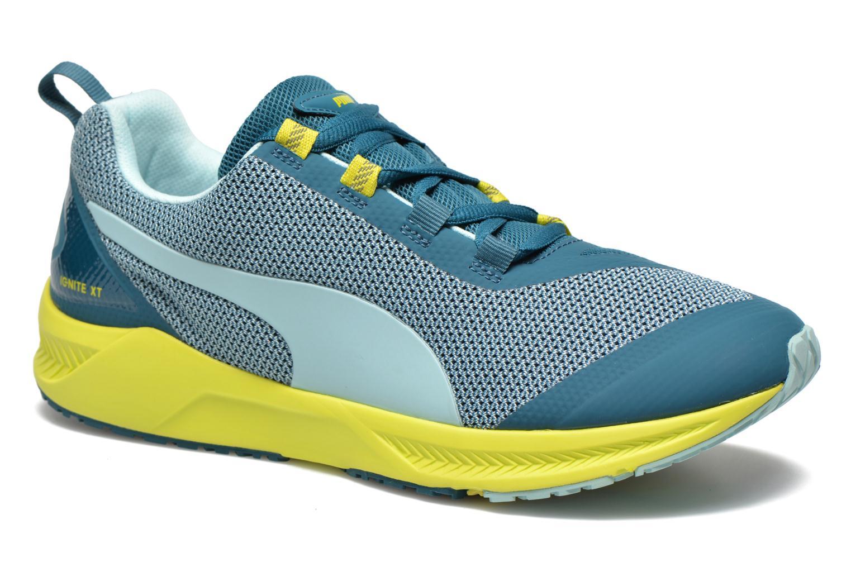 Chaussures de sport Puma Ignite XT Wn's Bleu vue détail/paire