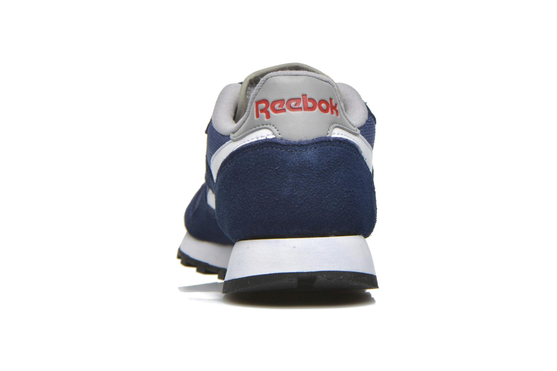 Baskets Reebok Classic Sport Clean Bleu vue droite