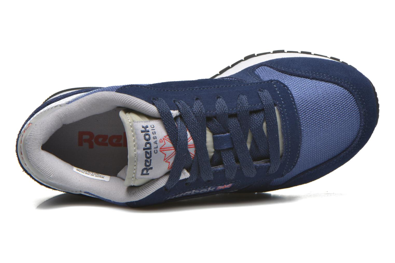 Baskets Reebok Classic Sport Clean Bleu vue gauche