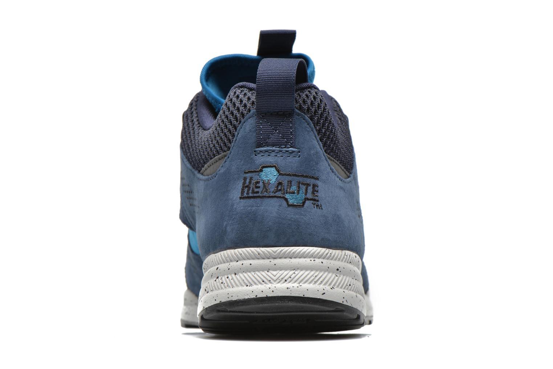 Baskets Reebok Ventilator Mid Boot Bleu vue droite