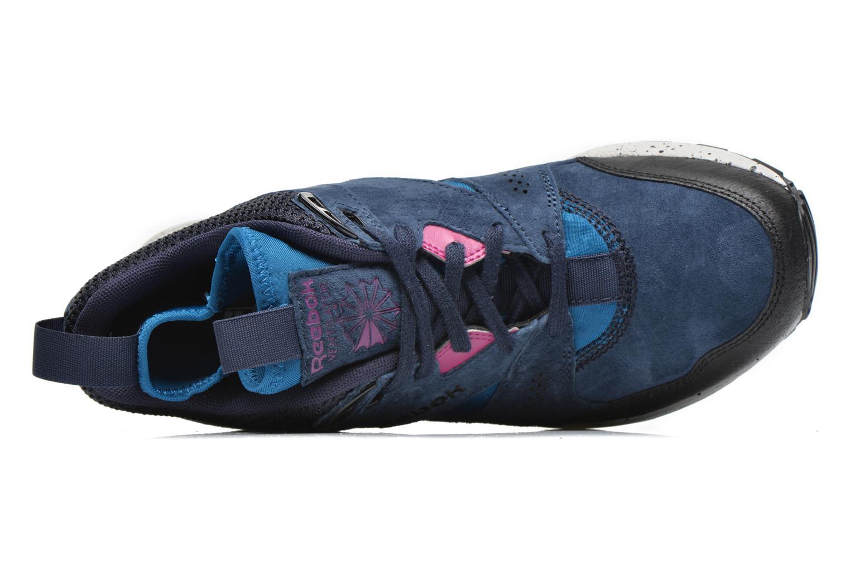 Baskets Reebok Ventilator Mid Boot Bleu vue gauche